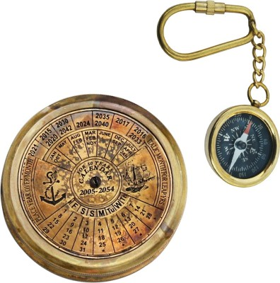 Shree Sai Handicraft Pure Brass Compass Combo Gift Compass