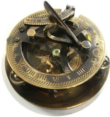 Prachin With Sundial Compass(Multicolor)