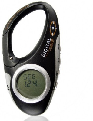 Technomart Travel & Adventure Sports Digital Compass(Black)