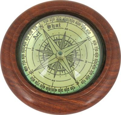 Artshai 4 inch paperweight Compass
