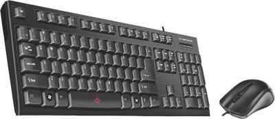 Manzana Key Plus Combo of Standard Keyboard & Mouse (USB + USB) Combo Set