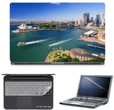 Skin Yard Sydney Opera House Laptop Skin with Screen Protector & Keyboard Skin -15.6 Inch Combo Set