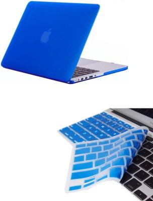 Pindia Royal Blue Matte Apple Macbook Pro 13.3 Hard Case Cover Keyboard Combo Set