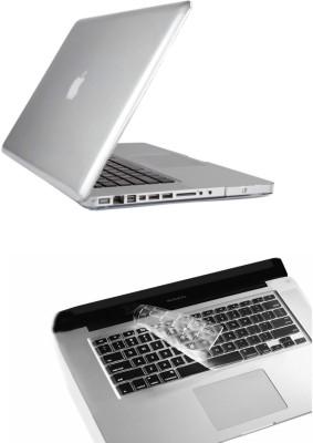 Pindia Transparent Crystal Apple Macbook Air 13 13.3 Hard Case Cover Keyboard Combo Set