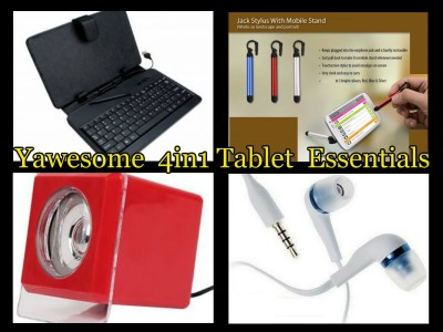 Yawesome Yawesome Multi Brand Tablet essentials combo Combo Set