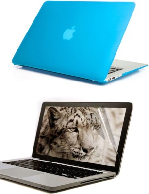 Pindia Apple Retina Macbook Pro 13 13.3 inch Md212hn/A Md212ll/A Hard Case Shell Cover Screen Guard Combo Set