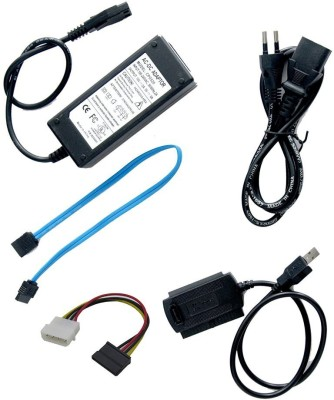 iConnect World USB to IDE SATA Convertor With Power adapter Combo Set