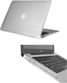 Pindia Transparent Matte Finish Apple Macbook Pro 15, 15.4 Inch Mc371hn/A Mc371ll/A Hard Case Shell and Anti Dust Ports Combo Set