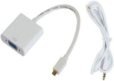 Smart Power Micro HDMI to VGA With Sound Combo Set