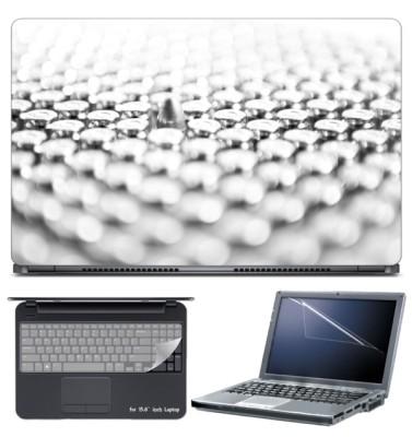 Skin Yard 9mm Bullet Laptop Skin with Screen Protector & Keyboard Skin -15.6 Inch Combo Set