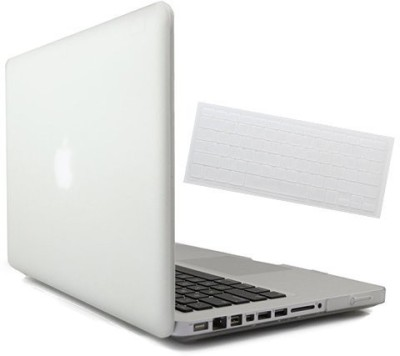 Saco Hard Shell Protective Case for Apple MacBook MF855HN/A 12-inch Retina Display Laptop With Keyboard Skin Combo Set