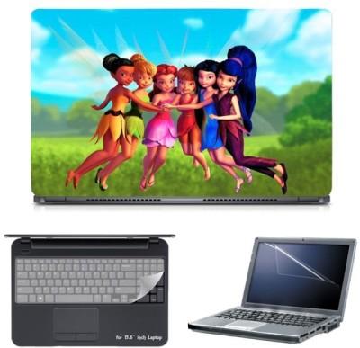 Skin Yard Disney Tiner Well Movie Laptop Skin with Screen Protector & Keyguard -15.6 Inch Combo Set