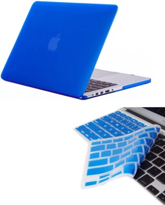 Pindia Royal Blue Apple Retina Macbook Pro 13 13.3 inch A1502 Hard Case Shell Cover Keyboard Combo Set