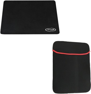 Storite Combo of Reversible 15.6 inch Laptop Sleeve Bag & 3mm Thickness Mouse Pad Combo Set