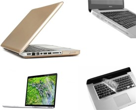 Pindia Gold Soft Touch Apple Macbook Pro 13 13.3