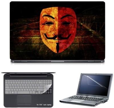Skin Yard Wilson Mask Laptop Skin with Screen Protector & Keyboard Skin -15.6 Inch Combo Set