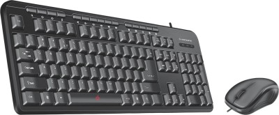 Manzana Key Plus Multi Combo of Multimedia Keyboard & Mouse (USB + USB) Combo Set