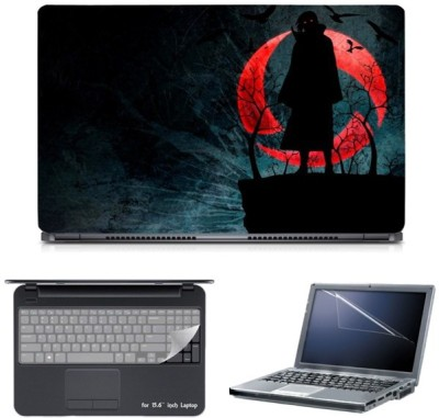 Skin Yard Nightcore Ghost Laptop Skin with Screen Protector & Keyguard -15.6 Inch Combo Set