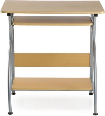 Nilkamal Vibe Engineered Wood Computer Desk(Straight, Finish Color - Brown)