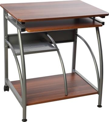 Godrej Interio Engineered Wood Computer Desk(Straight, Finish Color - Walnut)