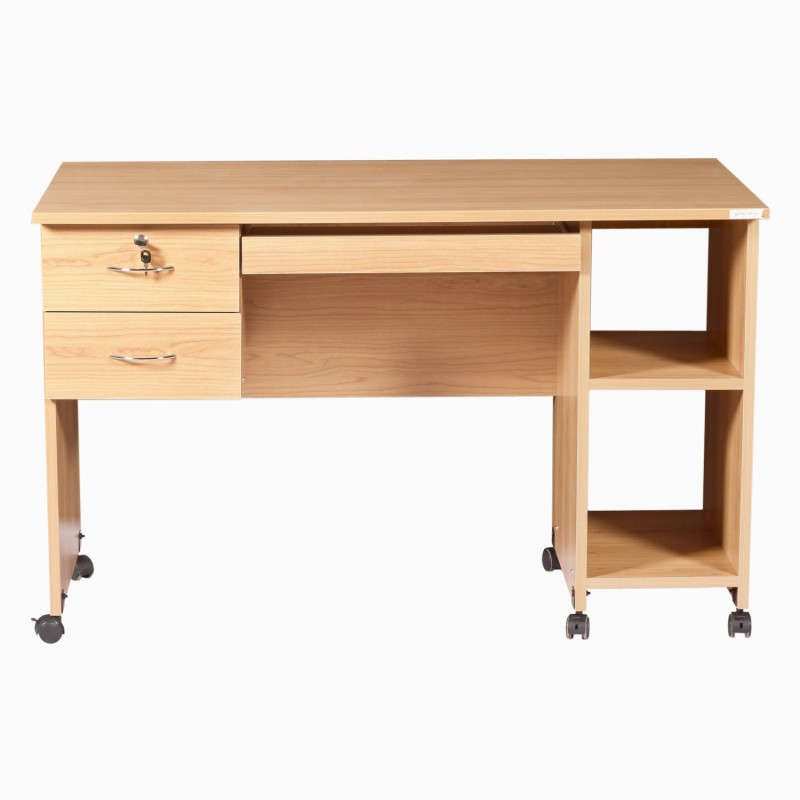 Godrej Interio Companion C 11 Engineered Wood Computer Desk(Straight, Finish Color - Honey)