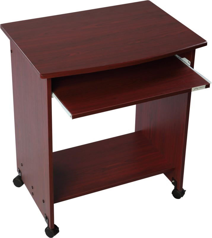 Godrej Interio Caliber 201 Engineered Wood Computer Desk(Straight, Finish Color - Red Maple)