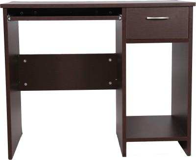 Stellar Engineered Wood Computer Desk(Straight, Finish Color - Wenge)