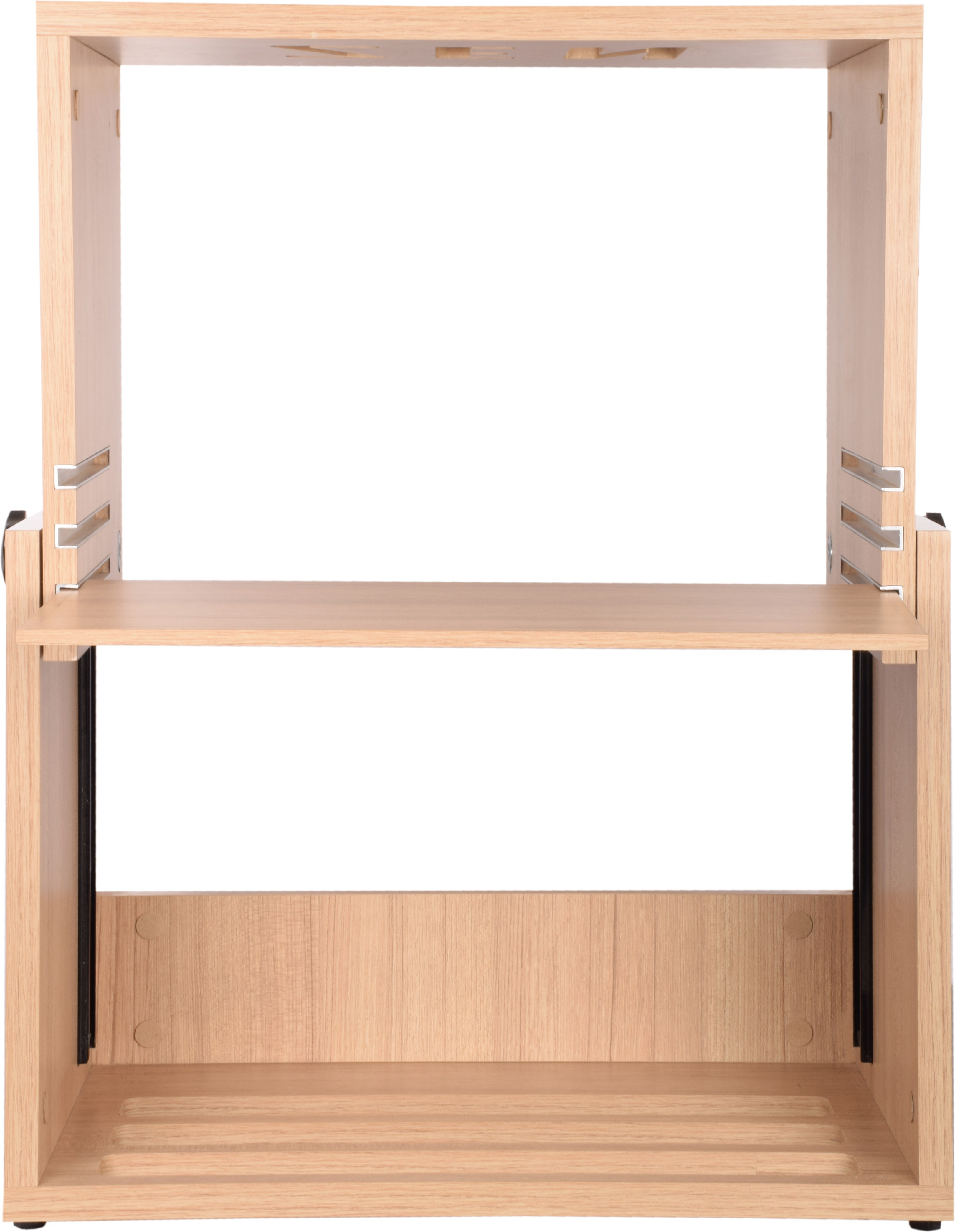 View Fitizen Engineered Wood Computer Desk(Modular, Finish Color - Beige) Price Online(Fitizen)