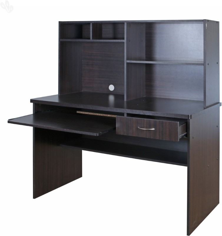 Royal Oak Nile Engineered Wood Computer Desk(Straight, Finish Color - Honey Brown)