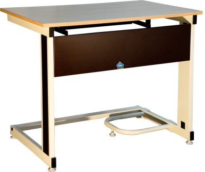 Delite Kom C Shaped 18mm Top Thickness Computer Table Metal Computer Desk