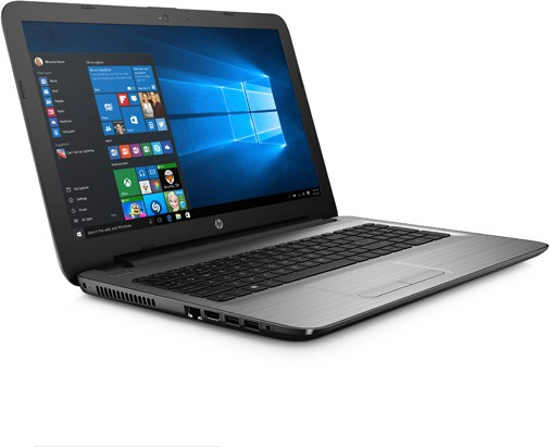 HP Pavilion APU Quad Core A8 3rd Gen - (2 GB/1 TB HDD/DOS/2 GB Graphics) 15-BA017AX Notebook(15.6 inch, SIlver) image