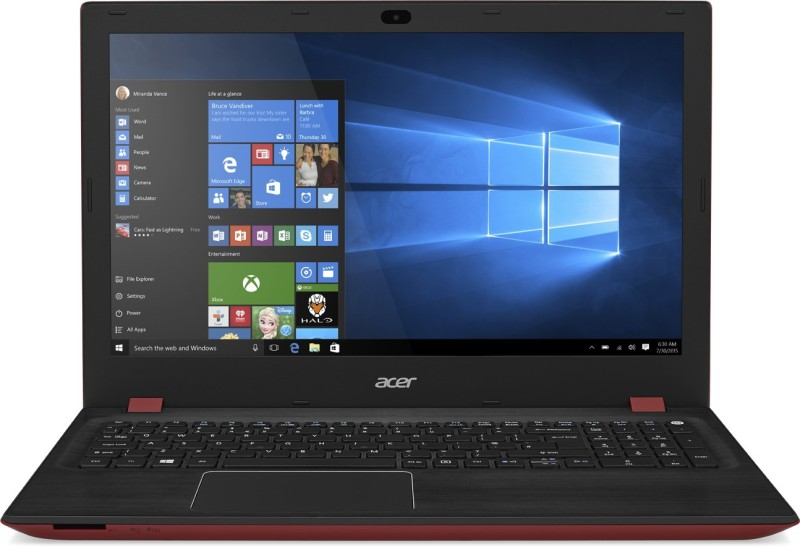 Acer  Notebook  Intel Core i7 8 GB RAM Windows 10 Home