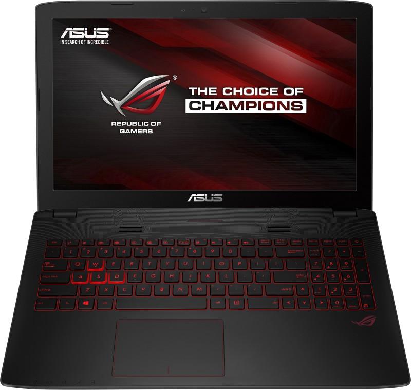 Asus ROG Core i7 6th Gen - (8 GB/1 TB HDD/Windows 10 Home/4 GB Graphics) 90NB0AW1-M03150 GL552VX-DM261T Notebook(15.6 inch, Black, 2.59 kg)