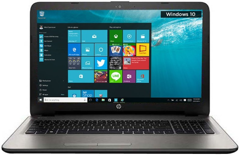 HP APU Quad Core A8 6th Gen - (4 GB/1 TB HDD/Windows 10 Home/2 GB Graphics) P3C93PA#ACJ 15-AF103AX Notebook(15.6 inch, Turbo SIlver, 2.19 kg)