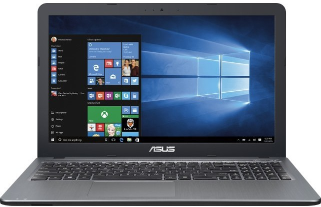 Asus Core i3 5th Gen - (4 GB/1 TB HDD/DOS/2 GB Graphics) A540LJ-DM667D Notebook(15.6 inch, SIlver Gradient With Hairline Texture, 1.9 kg) image