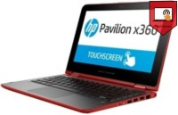 HP Pentium Quad Core 4th Gen - (4 GB 1 TB HDD Windows 8 Pro) M2X34PA 11-k015TU x360 2 in 1 Laptop(11.6 inch Red 1.46 kg)