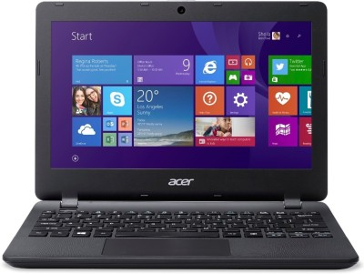 Acer Aspire ES Celeron Dual Core 3rd Gen - (2 GB/500 GB HDD/Windows 8 Pro) NX.MYKSI.006 NX.MYKSI.006 Notebook(11.6 inch, Diamond Black, 1.25 kg)