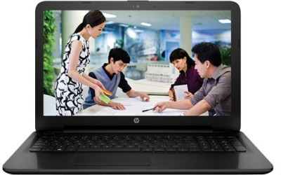 HP 15-ac650TU Core i5 (4th Gen) - (4 GB/1 TB HDD/Free DOS) Notebook V5D75PA (15.6 inch, Jack Black , 2.19 kg)