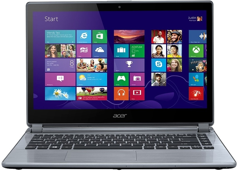 Acer Aspire V5-472 Notebook (3rd Gen Ci3/ 4GB/ 500GB/ Win8) (NX.MB2SI.008)(13.86 inch, Iron, 2.1 kg)