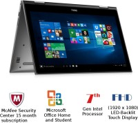 Dell Inspiron 5000 Core i5 7th Gen - (8 GB 1 TB HDD Windows 10 Home) Z564503SIN9 5578 2 in 1 Laptop(15.6 inch Gray 1.62 kg)