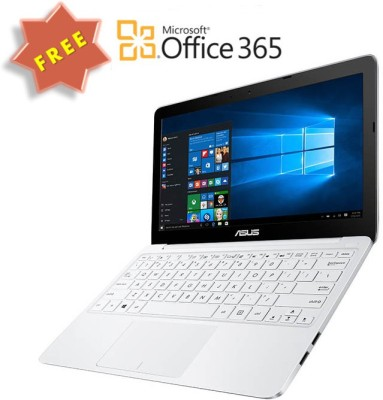 Asus Eeebook X Series X205TA-FD0060TS Intel Atom - (2 GB/32 GB EMMC Storage/Windows 10) Netbook 90NL0731-M07730 (11.6 inch, White, 1kg kg)