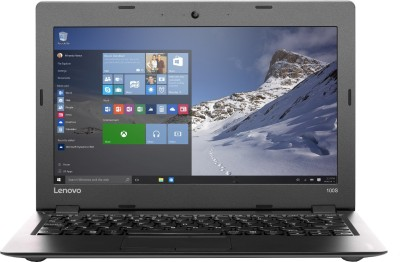 Lenovo Ideapad 100s 11IBY Intel Atom Quad Core - (2 GB/32 GB EMMC Storage/Windows 10 Home) Notebook 80R2009FIH (11.6 inch, Silver, 1 kg)