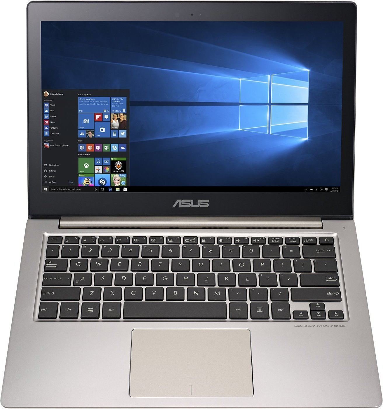 View Asus ZenBook Core i5 6th Gen - (8 GB/1 TB HDD/Windows 10 Home/2 GB Graphics) UX303UB-R4013T Ultrabook(13.3 inch, SMoky Brown, 1.45 kg) Laptop