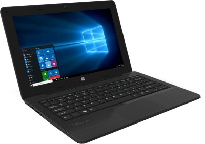 Micromax Canvas Lapbook L1161 Intel Atom Quad Core - (2 GB/32 GB EMMC HDD/32 GB EMMC Storage/Windows 10) Netbook (11.6 inch, Black, 1.3 kg)