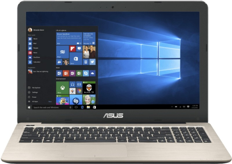 Asus  Notebook  Intel Core i5 4 GB RAM DOS