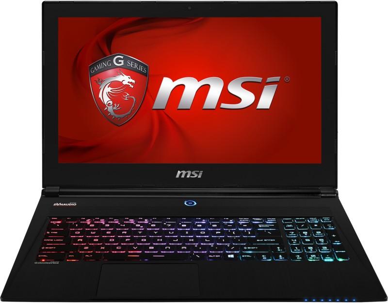 MSI  Notebook  Intel Core i7 8 GB RAM Windows 8.1
