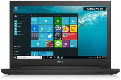 Dell 3000 Core i3 5th Gen - (4 GB/1 TB HDD/Windows 10 Home) Z565202SIN9/Z561102HIN9 3543 Notebook(15.6 inch, Black, 4 kg)