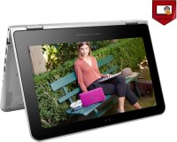 HP Pavilion x360 Core M 6th Gen - (4 GB/1 TB HDD/Windows 10 Home) 11-k106TU 2 in 1 Laptop(11.6 inch, Natural SIlver, 1.46 kg)