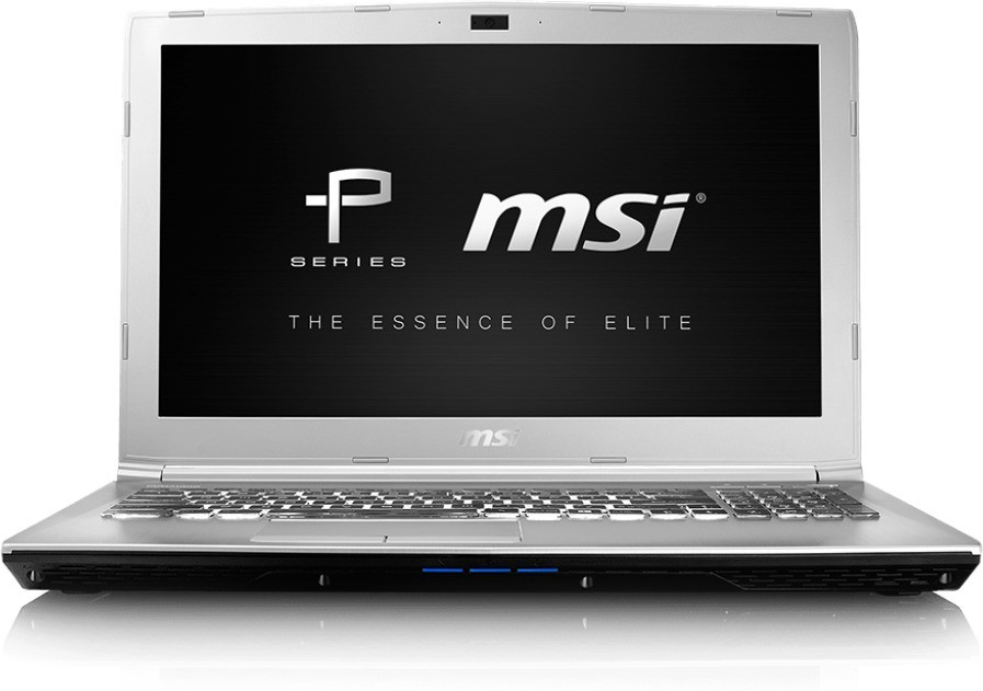 View MSI PE Core i7 7th Gen - (16 GB/1 TB HDD/DOS/4 GB Graphics) PE60 7RD Notebook(15.6 inch, SIlver, 2.4 kg) Laptop