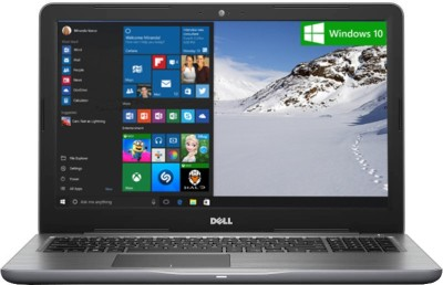 Dell Inspiron 5000 Core i5 7th Gen - (8 GB/1 TB HDD/Windows 10 Home/4 GB Graphics) Z563503SIN9G 5567 Notebook(15.6 inch, Grey, 2.36 kg)
